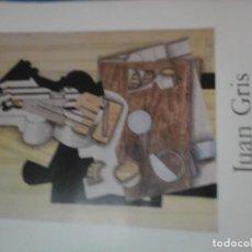 Varios objetos de Arte: CARTEL ORIGINAL EXPOSICIÓN JUAN GRIS EN MADRID 1985 50×69 CMT EDITADO POR MINISTERIO DE CULTURA. Lote 72119699
