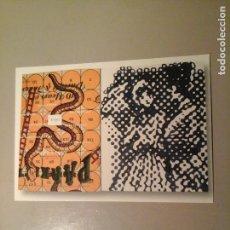 Arte: SIGMAR POLKE. TARJETA POSTAL 10,5 X 15 CM. EDITION FOR PARKETT 40/41. ARTE CONTEMPORÁNEO.. Lote 72333723