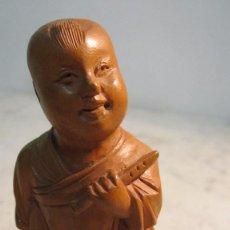 Varios objetos de Arte: TALLA DE MADERA DE ORIGEN ORIENTAL . Lote 72390359