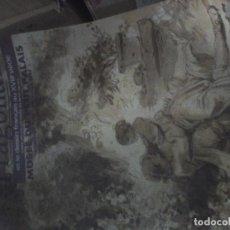 Varios objetos de Arte: CARTEL ORIGINAL EXPOSICIÓN FRAGONARD PETI PALAIS PARIS 60×40 CMT. Lote 72486103