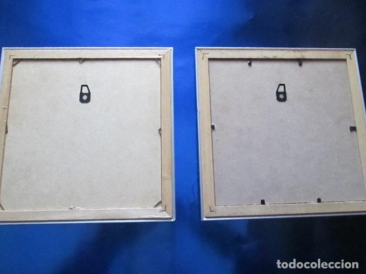 Lote 2 peque os cuadros dise o ba os originales comprar for Banos originales pequenos