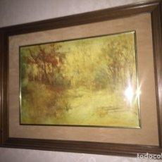Varios objetos de Arte: GRAN CUADRO ESMALTADO VINTAGE. Lote 73065209