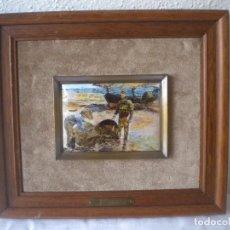 Varios objetos de Arte: BONITO ESMALTE DE JOAQUIN SOROLLA.. Lote 73441755