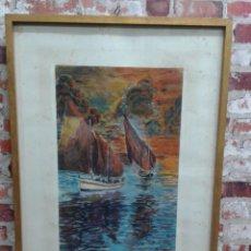 Varios objetos de Arte: SANTOS ACUARELA. Lote 73929799