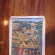Varios objetos de Arte: PINTURA NAIF DE LA ISLA DE BALI, EN INDONESIA... Lote 74247607