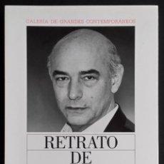 Varios objetos de Arte: ANTONIO SAURA: RETRATO DE ANTONIO SAURA, 1991 / FIRMADO A LÁPIZ POR EL ARTISTA /CÍRCULO DE LECTORES. Lote 74277619