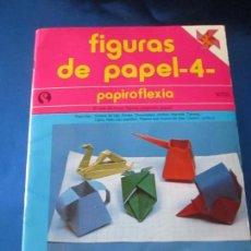 Varios objetos de Arte: FASCÍCULO-FIGURAS DE PAPEL.4-4-SENA-COLECCIÓN ARTE MANUAL-1984-VER FOTOS.. Lote 74313567