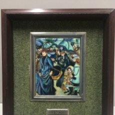 Varios objetos de Arte: CUADRO RENOIR ESMALTE AL FUEGO. Lote 74751998