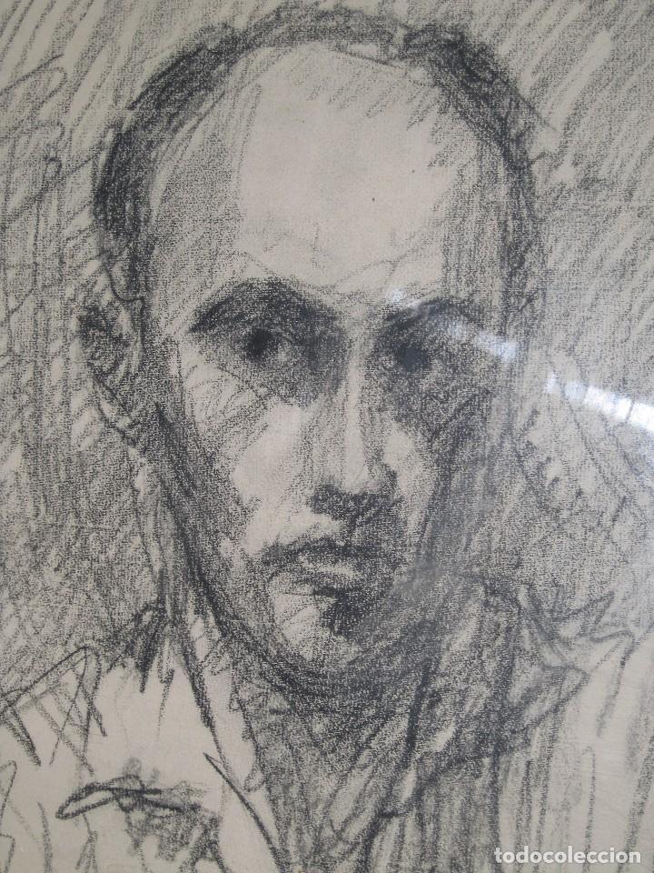 Varios objetos de Arte: PINTOR DE MALAGA SALVADOR TORRES NARVAEZ AUTORRETRATO A TAMAÑO NATURAL CIRCA 1965 - Foto 2 - 74861747