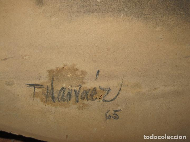 Varios objetos de Arte: PINTOR DE MALAGA SALVADOR TORRES NARVAEZ AUTORRETRATO A TAMAÑO NATURAL CIRCA 1965 - Foto 4 - 74861747