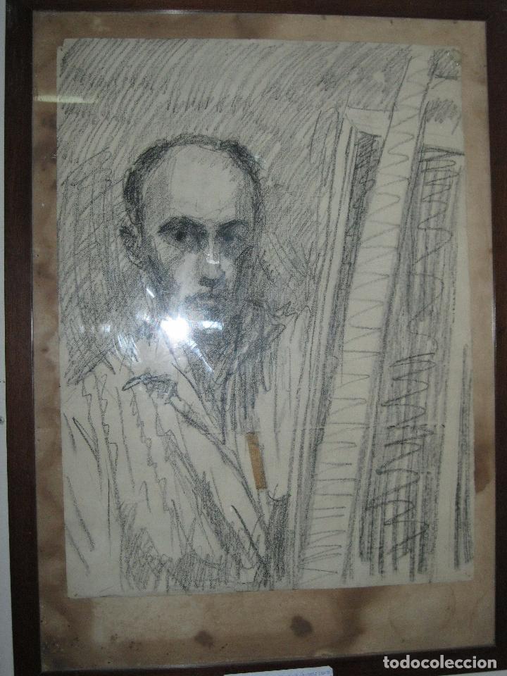 Varios objetos de Arte: PINTOR DE MALAGA SALVADOR TORRES NARVAEZ AUTORRETRATO A TAMAÑO NATURAL CIRCA 1965 - Foto 5 - 74861747