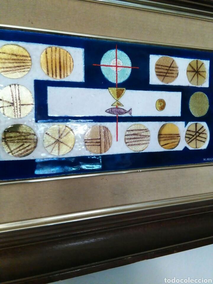 Varios objetos de Arte: Esmalte al fuego de Montserrat Mainar Benedicto (Barcelona 1928 -- 2015) - Foto 3 - 76751133