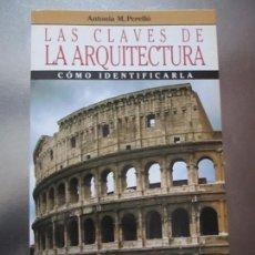 Varios objetos de Arte: ARTE-LIBRO-LAS CLAVES DE LA ARQUITECTURA-COMO IDENTIFICARLA-ANTONIA M.PERELLÓ-ARÍN-1987-NUEVO-VER FO. Lote 76753775