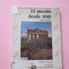 Varios objetos de Arte: LIBRO-BIBLIOTECA BÁSICA DE HISTORIA-L MUNDO DESDE 1945-ANAYA-1994-VER FOTOS.. Lote 77217625