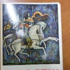 Varios objetos de Arte: PINTURA RUSA MEDIEVAL - COLECCIÓN DE 16 LÁMINAS EN CARPETA - ANTIGUA URSS AÑO 1977. Lote 78406061