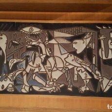 Varios objetos de Arte: REPRODUCCIÓN DEL GUERNICA DE PICASSO REALIZADO POR CERÁMICA CATALANA . Lote 78436705