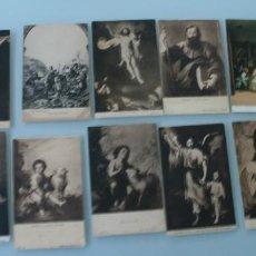 Varios objetos de Arte: POSTALES DE ARTE PINTURA: GRANDES OBRAS PINTURAS MUSEO DEL PRADO - EN MUY BUEN ESTADO. Lote 79567805
