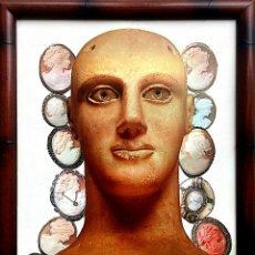 Arte: COLLAGE MANUAL ORIGINAL DEL ARTISTA INDALECIO. Lote 79763323