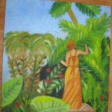 Varios objetos de Arte: OLEO EN LIENZO FIRMADO AVC. Lote 67004822