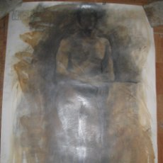 Varios objetos de Arte: PINTURA ANTIGUA DIBUJO CON OLEO AL NATURAL GRANDES DIMENSIONES PILAR TORRESANO ORTIZ. Lote 50576584