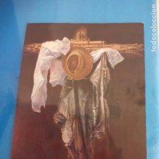 Varios objetos de Arte: FOLLETO, PROGRAMA, INVITACIÓN O ANUNCIO DE EXPOSICIÓN DEL PINTOR J.L. MONTORO. 1983. MÁLAGA. FIRMADO. Lote 80718854