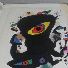 Varios objetos de Arte: MIRO, CARTEL DE LA GALERIA MAEGHT EXPOSICIO INAUGURAL EN NOVIEMBRE DE 1974. Lote 80719346