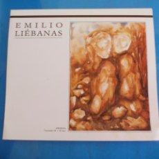Varios objetos de Arte: FOLLETO, PROGRAMA, INVITACIÓN O ANUNCIO DE EXPOSICIÓN DEL PINTOR EMILIO LIEBANAS 1992.VÉLEZ-MÁLAGA. . Lote 80719586