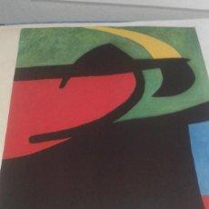 Varios objetos de Arte: MIRO, CARTEL DEL MUSEO D´ART DE SABADELL. Lote 80775886