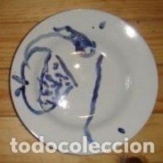 Varios objetos de Arte: PLATO PINTADO POR CARLOS PIÑEL. Lote 81016492