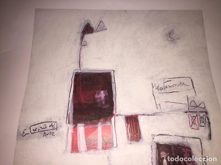 Varios objetos de Arte: CARMEN MICHAVILA. LAMINA PINTURA H/C. MALVARROSA. - Foto 6 - 81110860