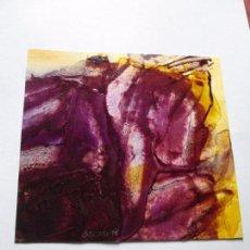 Varios objetos de Arte: *(6)-ARTE-OBRA-MARGA CHAS OCAÑA-EMBOZADO EN UNA CAPA-24X24 CMS-SOBRE CARTÓN-VER FOTOS. Lote 82054176