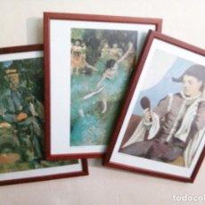 Varios objetos de Arte: REPRODUCCIONES ENMARCADAS. Lote 82981180