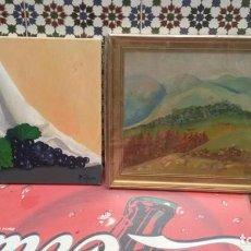 Varios objetos de Arte: CUADROS PINTADOS FIRMADOS. Lote 83022568