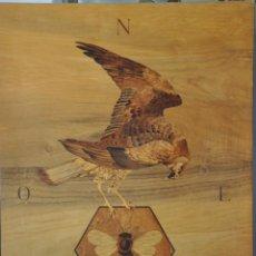 Varios objetos de Arte: CUADRO MURAL MARQUETERIA POR EL MAESTRO PEÑALVER , DEL AÑO 1982 , MADRID , RUIZ MATEOS. Lote 83080828