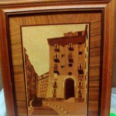 Varios objetos de Arte: CUADRO MARQUETERÍA ARCO CUCHILLEROS. Lote 83386595