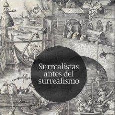Varios objetos de Arte: SURREALISTAS ANTES DEL SURREALISMO JUAN MARCH 2013 DESPLEGABLE 5 HOJAS EXPLICANDO CADA SALA. Lote 83425216