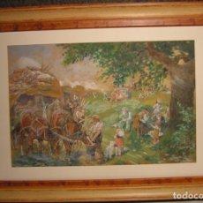 Varios objetos de Arte: PASTEL ANTIGUO-. Lote 83468960