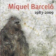 Varios objetos de Arte: MIQUEL BARCELÓ 1983-2009 CAIXA FORUM MADRID 13 CUADROS. Lote 83577604