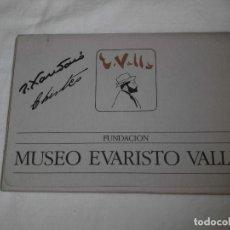 Varios objetos de Arte: FUNDACION MUSEO EVARISTO VALLE.JOAQUIN XAUDARO LOS VERANEOS DEL NORTE.LIBRO Y 30 DIBUJOS PARA CHISTE. Lote 83604828