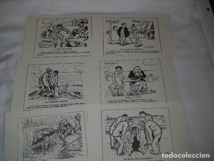 Varios objetos de Arte: FUNDACION MUSEO EVARISTO VALLE.JOAQUIN XAUDARO LOS VERANEOS DEL NORTE.LIBRO Y 30 DIBUJOS PARA CHISTE - Foto 5 - 83604828