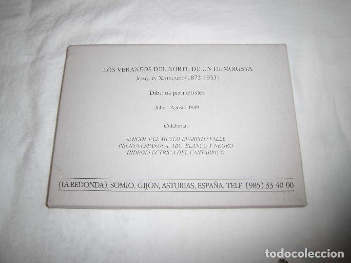 Varios objetos de Arte: FUNDACION MUSEO EVARISTO VALLE.JOAQUIN XAUDARO LOS VERANEOS DEL NORTE.LIBRO Y 30 DIBUJOS PARA CHISTE - Foto 9 - 83604828