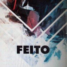 Varios objetos de Arte: FEITO. MUSEO ESPAÑOL DE ARTE CONTEMPORANEO. 1988. CARTEL DEDICADO Y FIRMA A MANO POR EL ARTISTA.. Lote 84158400