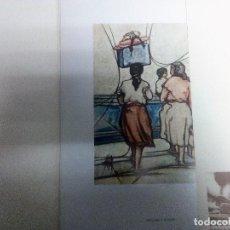 Varios objetos de Arte: SEGUNDO ESCOLAR. CARPETA CON 7 REPRODUCCIONES EN OFFSET DE 995 PRUEBAS DE TIRADA Nº 230/995. Lote 84720052