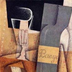 Arte: CUADRO REPLICA DE JUAN GRIS, EN MADERA: THE BOTTLE OF BANYULS. 40X28 CM.. Lote 84733912