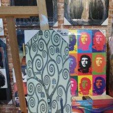 Varios objetos de Arte: GUSTAV KLIMT: ARBOL DE LA VIDA. CUADRO FRISO EN MADERA DE TAMAÑO 60X20. Lote 84798852