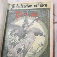 Varios objetos de Arte: LA ILUSTRACION ARTISTICA - AÑO COMPLETO 1888 - LITERATURA ARTE CIENCIA, SEMANAL EXCELENTE 51 Nº +INF. Lote 86299816