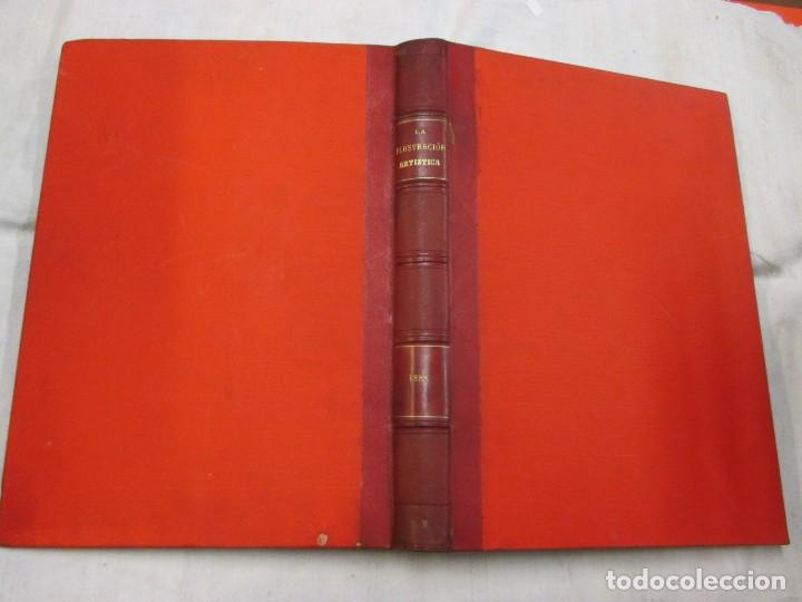 Varios objetos de Arte: LA ILUSTRACION ARTISTICA - AÑO COMPLETO 1888 - LITERATURA ARTE CIENCIA, SEMANAL EXCELENTE 51 Nº +INF - Foto 3 - 86299816