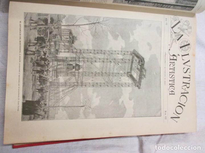 Varios objetos de Arte: LA ILUSTRACION ARTISTICA - AÑO COMPLETO 1888 - LITERATURA ARTE CIENCIA, SEMANAL EXCELENTE 51 Nº +INF - Foto 7 - 86299816