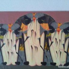 Varios objetos de Arte: PRECIOSA PINTURA NAIF ANTIGUA FIRMADA. Lote 87536364