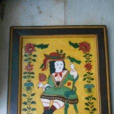 Varios objetos de Arte: CUADROP NAIF AÑOS 60. Lote 89309512